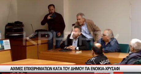 Φατούρο έπεσε σε δημοτικό συμβούλιο στο Ηράκλειο με θέμα το χριστουγεννιάτικο κάστρο