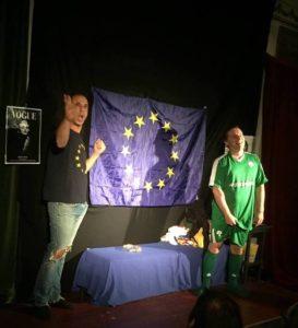 H πολιτική σάτιρα Alexis & Yiannis στο Θέατρο Κολλάτου