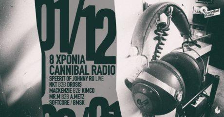 Το Cannibal Radio γιορτάζει τα 8 του χρόνια στο six d.o.g.s