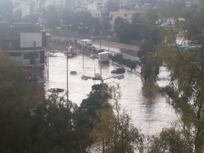 Κανονικά κινούνται τα υποβρύχια σήμερα στο Κερατσίνι μετά τη βροχή