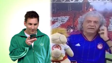 Ο Τάκης τηλεφωνεί στον Messi