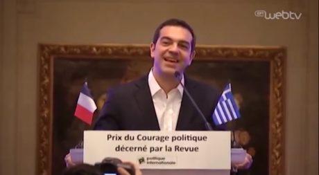 Τα γαλλικά του Αλέξη Τσίπρα είναι ακόμη καλύτερα από τα αγγλικά του