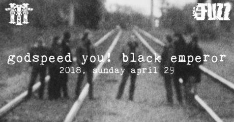 Οι Godspeed You! Black Emperor έρχονται στo Fuzz την Κυριακή 29 Απριλίου