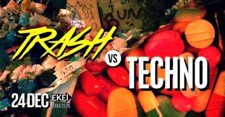 To Trash Vs Techno επιστρέφει στις 24 Δεκεμβρίου στο ΕΚΕΙ