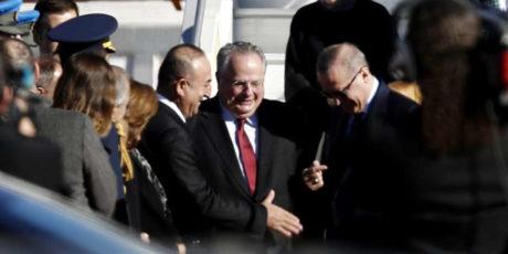 Όλη η επίσκεψη Ερντογάν σε μια ατάκα 3 δευτερολέπτων