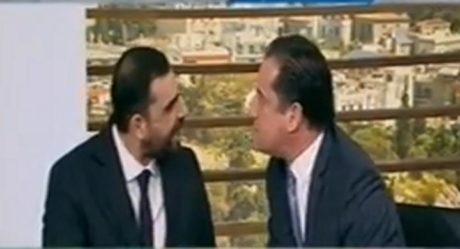 Μόνο κουτουλίδι δεν έπεσε μεταξύ Άδωνι Γεωργιάδη και Πέτρου Κωνσταντινέα στο «Καλημέρα Ελλάδα»