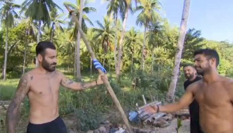 Ελληνικό σημαιάκι έφτιαξε ο Μαυρίδης στις Φιλιππίνες για να έχει άλλον ένα λόγο να δακρύζει on camera