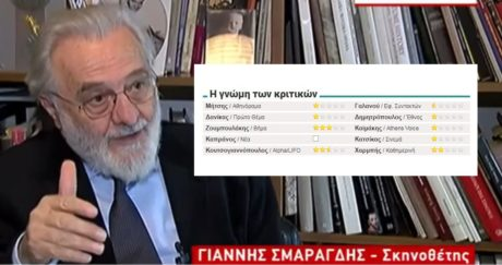 Στα δικαστήρια θα πάει ο Γιάννης Σμαραγδής τους σινεκριτικούς που έθαψαν την ταινία του
