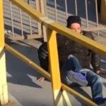 Αρειανός Μπάμπης Σουγιάς πάει για «ντου» σε αντιπάλους και σπάει το πόδι του