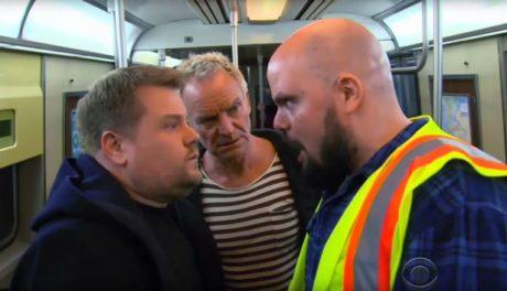 Ο Τζέημς Κόρντεν έκανε ένα σπέσιαλ carpool karaoke στο μετρό της Νέας Υόρκης και τις τρώει