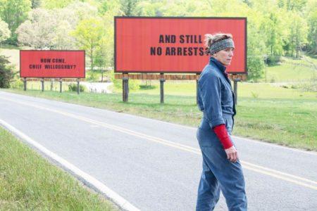 """Το """"Τρεις Πινακίδες Έξω Από το Έμπινγκ, Στο Μιζούρι"""" καλύτερη ταινία της χρονιάς στις φετινές Χρυσές Σφαίρες"""