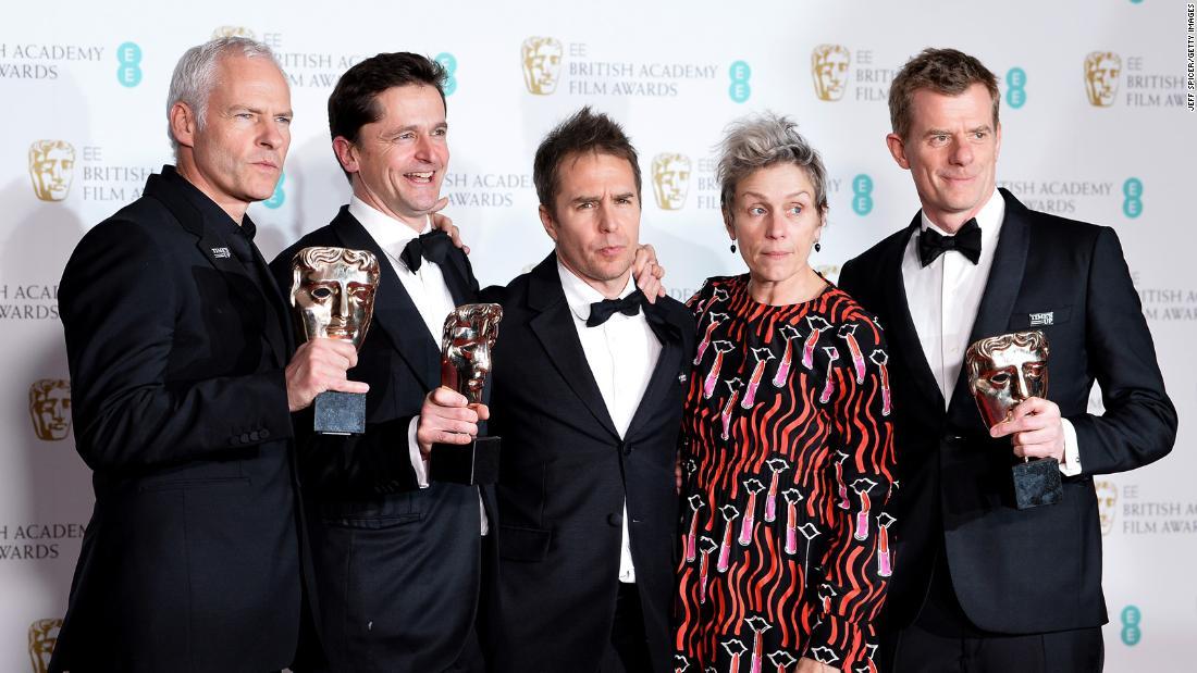 Σάρωσε και στα BAFTA το «Τρεις Πινακίδες έξω από το Έμπινγκ, στο Μιζούρι»