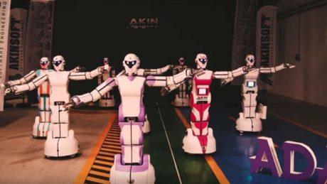 Αυτά τα ρομποτ χορεύουν τούρκικα σκυλάδικα, λόγω επειδή επιστήμη