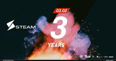 Το Steam Athens γιορτάζει τα 3 χρόνια λειτουργίας του με ένα εκρηκτικό πάρτυ