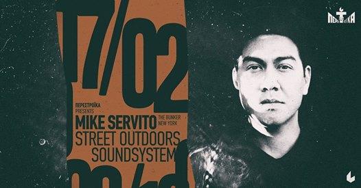 Ο θρύλος της underground αμερικάνικης dance σκηνής Mike Servito έρχεται στο six d.o.g.s