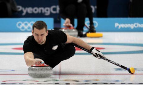 Για κάποιο γαμημένο λόγο ρώσος αθλητής του curling είναι ύποπτος για ντόπα