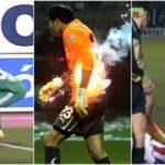 Οι 31 πιο εντυπωσιακές βολές αντικειμένων όλων των εποχών στα ελληνικά γήπεδα