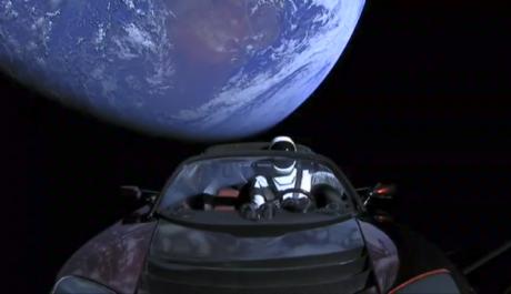 Άκρας υγείας χαίρει το κάμπριο που έστειλε στο διάστημα ο Elon Musk