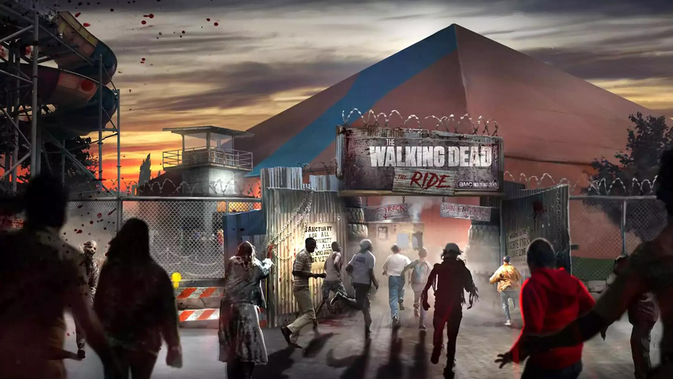 Δικό του τρενάκι του τρόμου θα έχει πλέον το Walking Dead στην Αγγλία