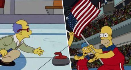 Τον ολυμπιονίκη στο curling φαίνεται πως είχαν, επίσης, προβλέψει οι Simpsons