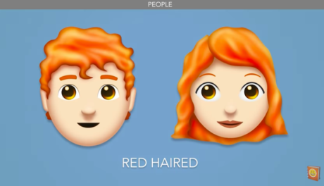 Οι κοκκινοτρίχηδες μπορεί να μην έχουν ψυχή, αλλά σύντομα θα έχουν emoji