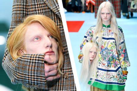 "H Gucci λανσάρει το στυλ ""κομμένο κεφάλι"" σε έκθεση μόδας στο Μιλάνο"
