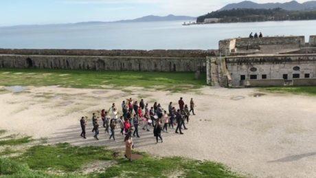 Mερακλήδικη μπάντα στην Κέρκυρα προβάρει το μουσικό θέμα του Game of Thrones