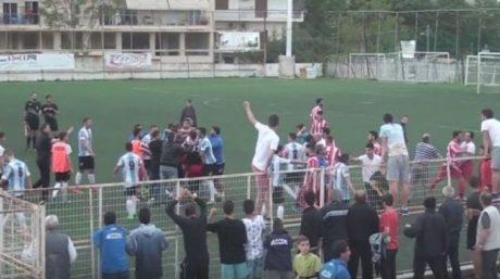 Θεσσαλονίκη: Ανήλικα μαθητούδια έκαναν τα πρώτα τους επεισόδια σε σχολικό αγώνα