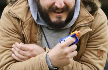 Νέο κρούσμα οπλοφορίας στο ελληνικό ποδόσφαιρο είχαμε σήμερα στο Χαριλάου