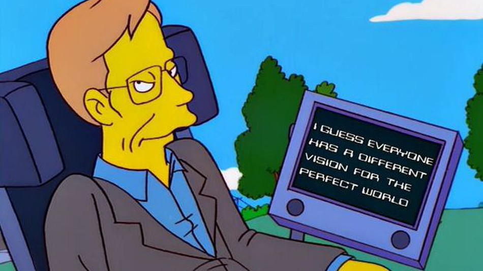 Από τους Simpsons μέχρι το Big Bang Theory: Όλες οι φορές που λατρέψαμε τον Stephen Hawking στην οθόνη
