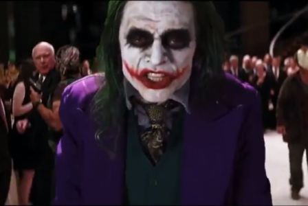 Πλέον μπορείτε να χαρείτε τον Wiseau ως Τζόκερ και στο Dark Knight, λόγω επειδή ίντερνετ