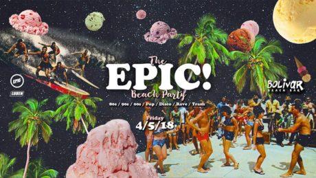 Έρχεται το καλοκαιρινό EPIC Beach Party στο Bolivar Beach Bar