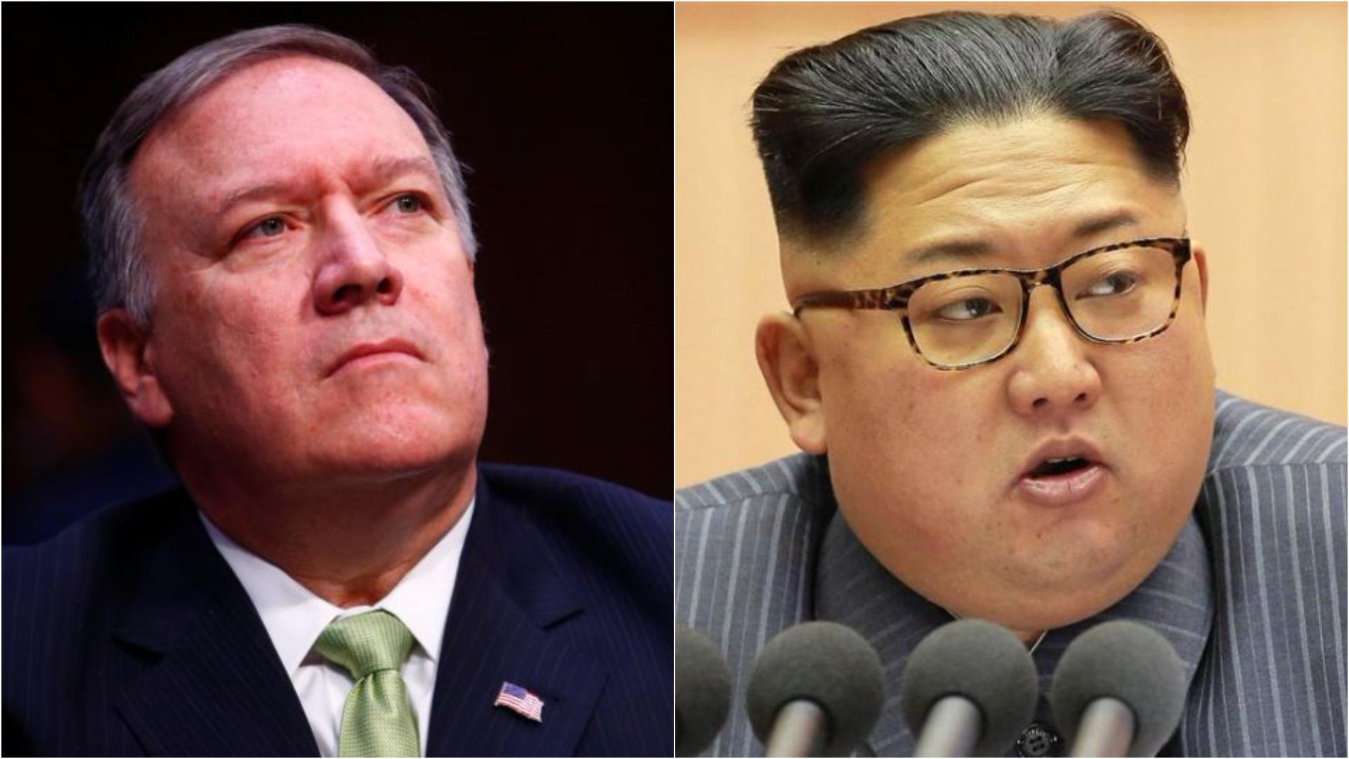 Ο διευθυντής της CIA πήγε Πρωταπριλιά στη Βόρεια Κορέα και δεν είναι ψέματα