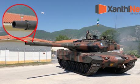 Ντελιβεράς αναγκάστηκε να γίνει ένα τανκ του Ελληνικού Στρατού για να τα βγάλει πέρα