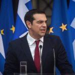 Με μια γραβάτα -χωρίς πουτσάκια- εμφανίστηκε ο πρωθυπουργός της χώρας Αλέξης Τσίπρας