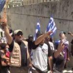 Αυτοί οι αρχαίοι μακεδονικοί χαιρετισμοί των πατριωτών έξω από τη Βουλή κάτι μας θυμίζουν