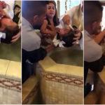 Αυτό το κοριτσάκι στο Μεξικό που είπε πουτάνα τον παπά στη βάφτιση γεννήθηκε thug