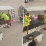 Αυτός ο εργαζόμενος που κάνει ολυμπιακή ρίψη αποσκευών σε αεροδρόμιο είμαστε εμείς κάθε Δευτέρα