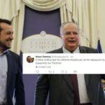 Μόλις 4 προσπάθειες χρειάστηκε ο Παππάς στο Twitter για να σχολιάσει την παραίτηση Κοτζιά