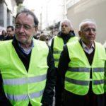 Δεν πρόλαβαν οι Μακεδονομάχοι, με κίτρινα γιλέκα διαδήλωσαν ο Λαφαζάνης και η ΛΑ.Ε.