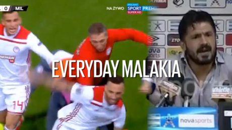 Ολυμπιακός Μίλαν 3 – 1: Everyday Malakia