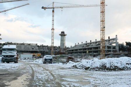 Εργάτης σκοτώνεται στο εργοτάξιο του νέου γηπέδου της ΑΕΚ πέφτοντας από σκαλωσιά