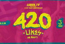 To πάρτυ για τα 420.000 likes του Luben θα είναι ό,τι πιο φλογισμένο έχουμε κάνει ποτέ