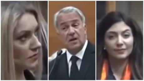 Γύπας καμεραμάν σκανάρει κάθε γυναίκα σε ομιλία του Βορίδη, κερδίζει μεταγραφή με το σπαθί του