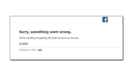 To Facebook ρίχνει κανόνι για κάμποσες ώρες, μας θυμίζει ότι δυστυχώς έχουμε ζωή