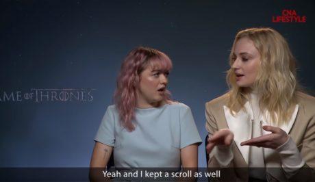 Οι πρωταγωνιστές του Game of Thrones εξομολογούνται τι ψείρισε ο καθένας την τελευταία μέρα των γυρισμάτων