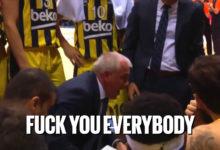 Απίστευτο ξέσπασμα Obradovic – Fuck you everybody