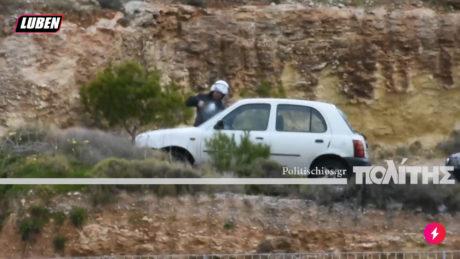 ΜΑΤατζήδες σπάνε αμάξια στη Χίο επειδή έχουν χιώτικες πινακίδες