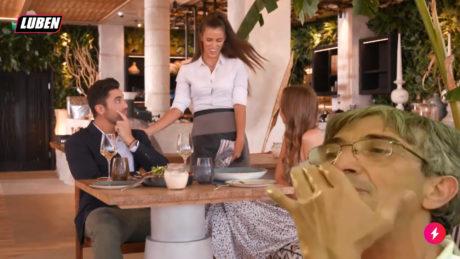 Σερβιτόρα την πέφτει στον Bachelor – τον γειώνει ο Μπάμπης από Εφιάλτη στην Κουζίνα