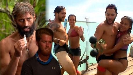 Survivor: Οι κόκκινοι είδαν κύκλους με τα ψαράκια που τους κέρασε ο James